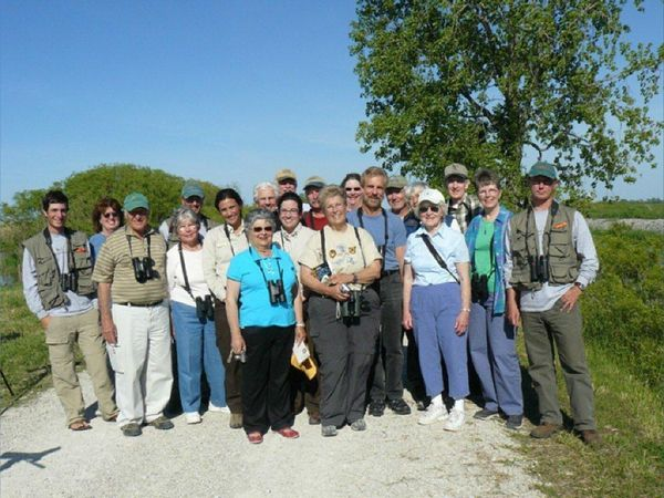 Group at Ottawa NWR