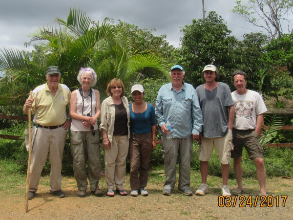 Grant, Lisa, Linda, others in Panama