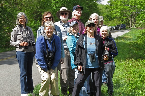Birders on BRP 6 May 2019